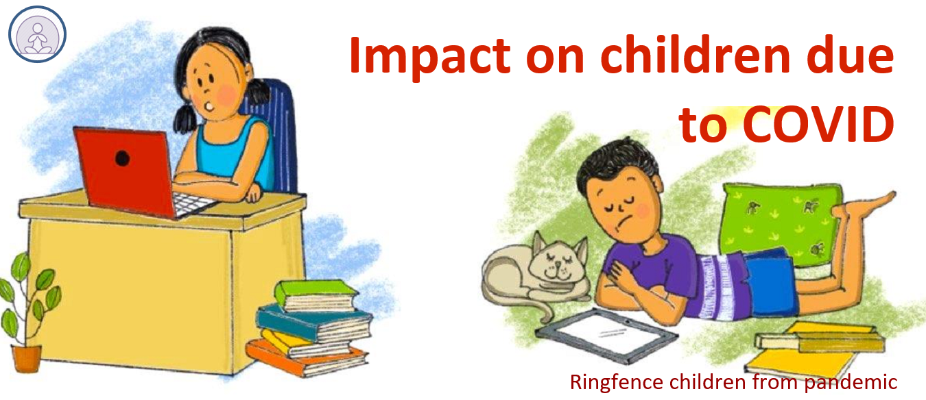 Impact on children due to COVID