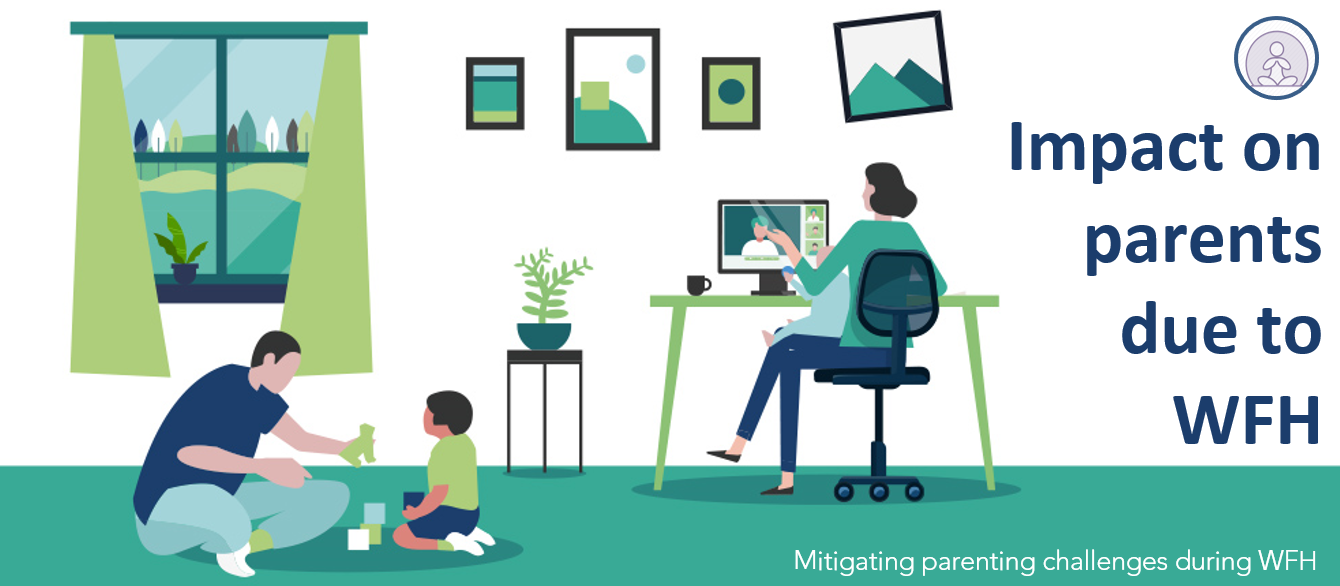 Impact on parents due to WFH