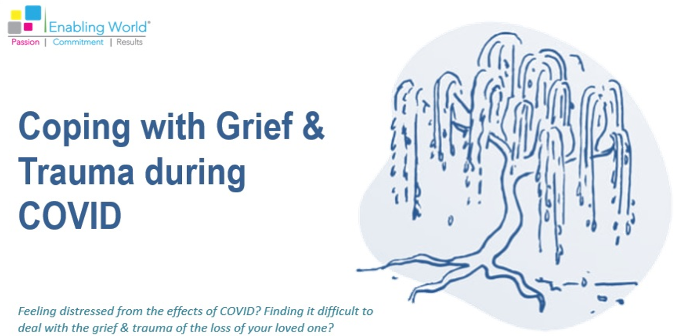 Coping with grief & trauma during COVID